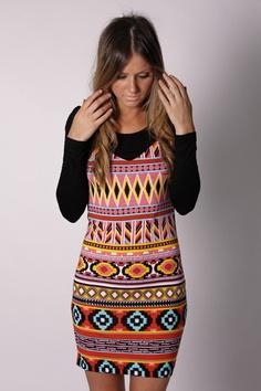 Fun tribal dress