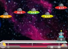 Here is a fun and free computer game to work on addition fluency. Easy to change the settings to make it rarer or more challenging for your students.