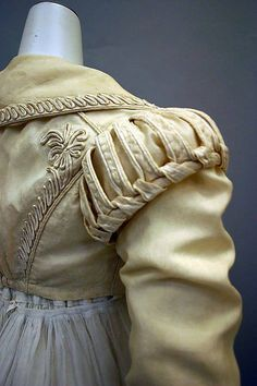 Detail of spencer jacket