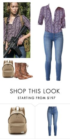 """""""Alicia Clark - ftwd / fear the walking dead"""" by shadyannon ❤ liked on Polyvore featuring rag & bone and Steve Madden"""