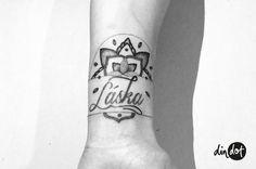 Din Dot tattoo · Berlin