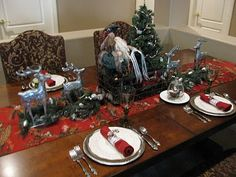Image Detail for - christmas tablescape