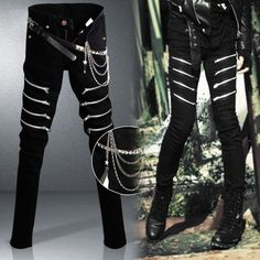 http://fashiongarments.biz/products/fashion-punk-jeans-men-hip-hop-style-zipper-skinny-jeans-male-design-brand-inculde-belt-and-chain-justin-bieber-clothes/,   	Product information:	Size:28,29,30,31,32,33,34 	Color: black 	Fabric:Denim  	model:408zip 	Package Contain:one pants + one belt + one chain	sytle: skinny fit , slim fit , if you like loose style , plesae don't buy , thanks	Size: Please compare the detail sizes with yours ,Size table is at the bottom of the page!	you can check your…