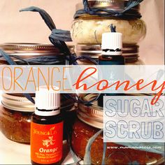Mama Marcie: DIY Christmas Gifts - Orange Honey Sugar Scrub