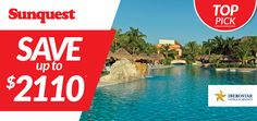 #TopPick Save up to $2110 per couple, per week on your next IBEROSTAR Hotels & Resorts vacation! http://www.sunquest.ca/en/iberostar-hotels-resorts-deals