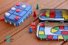 Φτιάχνουμε: μίνι επιτραπέζια παιχνίδια.. - 2 boys + Hope