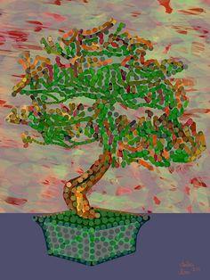 Andrea Mora title: Bonsai No. 2 (2014) original size: 105 x 140 cm digital painting - See more at: http://www.andreamora.de/still.html#sthash.EBiSmxhX.dpuf