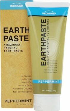 Redmond Trading Company Earthpaste Natural Toothpaste Peppermint — 4 oz - Oral Care World Flouride Free Toothpaste, Best Natural Toothpaste, Redmond Clay, Thing 1, Oral Hygiene, Natural Skin Care, Natural Beauty, Au Natural, Organic Beauty