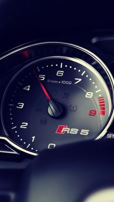 Audi Rs5 Dashboard #iPhone #5s #Wallpaper