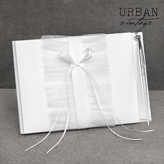 Tailored Romance Guest Book and Pen