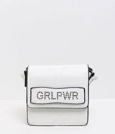 Bolsa transversal com taxas GRLPWR