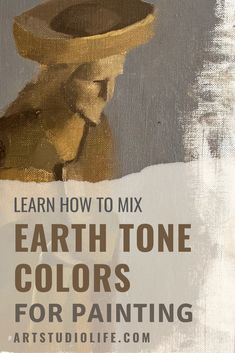 Learn all about earth tone colors - what they are and how to mix them in this oil paint mixing guide! Discover how to mix earth tones for your paintings with this step by step oil painting tutorial. Oil Painting Basics, Oil Painting For Beginners, Painting Tutorials, Painting Videos, Painting Tips, Art Tutorials, Watercolor Paintings Abstract, Painting & Drawing, Watercolors