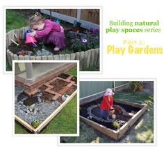 Play Gardens - for  billy to build
