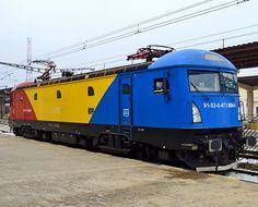 Softronic Electric Locomotive in Lasi in Romania
