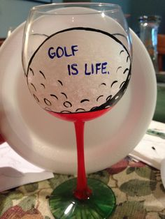 Golf glass