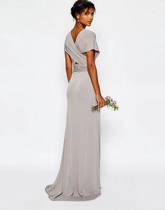 Imagen 2 de Vestido largo multiposición con cola de pez WEDDING de TFNC
