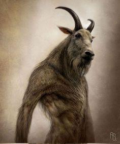 Goat man - aaron sims