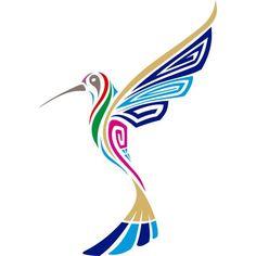 incan hummingbird art at DuckDuckGo Native Art, Native American Art, Haida Art, Hummingbird Tattoo, Stencil Art, Stenciling, Indigenous Art, Aboriginal Art, Animal Tattoos