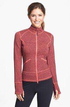 Zella 'Streamline Cross Dye' Jacket | Nordstrom