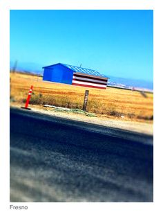 Madera, California-I love driving by this barn whenever we head up into the mountains!  Reminds me of all of those who have fought, and continue to fight for our country.