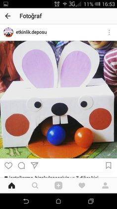 Find more information on kids Easter crafts & activities Easter Activities, Easter Crafts For Kids, Toddler Crafts, Craft Activities, Diy For Kids, Baby Sensory Play, Sunday School Crafts, Recycled Crafts, Kids Playing