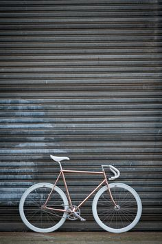 copper bicycle by Joost Olsthoorn