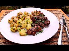 YouTube Sprouts, Potato Salad, Cauliflower, Potatoes, Vegetables, Ethnic Recipes, Food, Youtube, Food Food