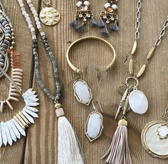 Which one? Hard to choose. Love our new Stella & Dot Collection!