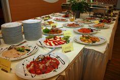 Buffet auf Hochzeit in Lindwedel