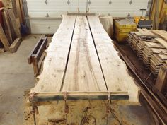 November 14, 2012 - What we are doing now… Working on a 15 foot long live edge salvaged Manitoba Oak Table! Someones conference room is going to be pretty stellar! Rethink. Reclaim. Reuse. - Ray tags:...
