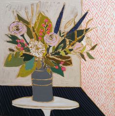 Lullie Wallace . . . such great paintings . . . I want one!