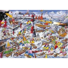 I Love Boats jigsaw puzzle