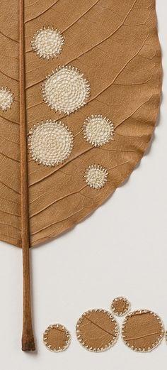 Ten Circles (detail)  — Susanna Bauer