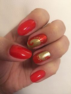 Red&gold ,