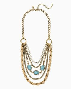 Ella Layered Necklace | Fashion Jewelry – Southwest Style | charming charlie