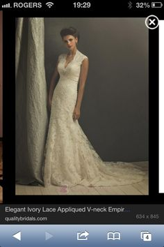 I absolutely love lace it's classy and casual at the same time. Would be great for an outdoor country wedding