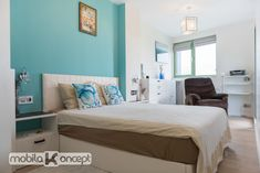 Dormitor AML Bed, Interior, Furniture, Design, Home Decor, Decoration Home, Stream Bed, Room Decor, Design Interiors