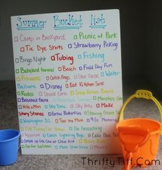 41 (mostly) Cheap and Free Summer Bucket List ideas for Kids!