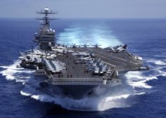 USS Carl Vinson - Named after   Milledgeville native and Long time Chairman of the House Armed Services Committee
