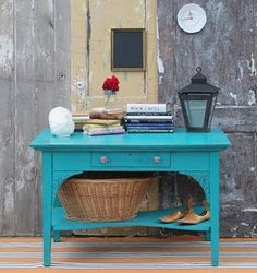 Lots of painted furniture inspiration on her blog - love it!