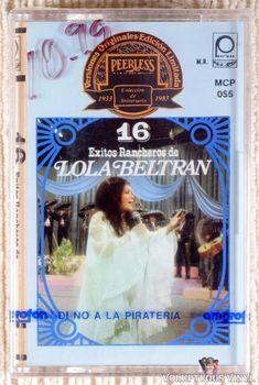 Lola Beltrán – 16 Exitos Rancheros De Lola Beltran