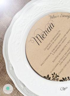 Rustic Wedding  Menù  www.nicolenesti.it