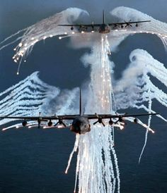 AC-130 Spectre Gunships  #AC130 #Gunship #AirForce