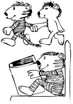 Janosch Ausmalbilder Précoce Pinterest Coloring Pages Baby