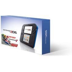 Nintendo 2DS with Mario Kart 7 Game Electric Blue