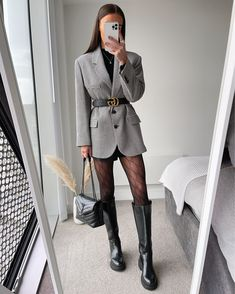Winter Fashion Outfits, Look Fashion, Spring Outfits, Korean Fashion, Fall Office Outfits, Autumn Outfits, Winter Outfits Women, Cute Casual Outfits, Stylish Outfits