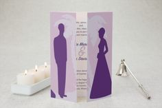 Gate-fold Wedding Invitations