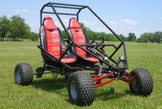 GrandDaddy Full Suspenion Two Seat Go Kart Plans