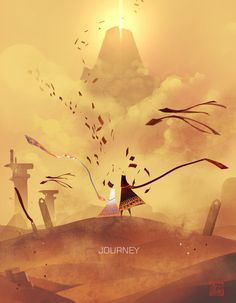 Journey Poster - Created by Zhou Rong