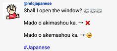 MLC Japanese Language Learning shall I open the window